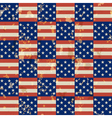 American vintage seamless pattern vector image vector image