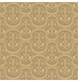 beige colour old style seamless background vector image vector image