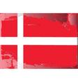 Denmark national flag vector image