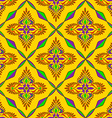 Bright Indian seamless pattern vector image