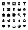 Kitchen Utensils Icons 3 vector image