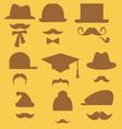 Mustache 2 vector image