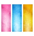 Set of Bright Vertical Banners vector image