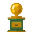 Sports award icon vector image