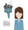 Real Estate design vector image