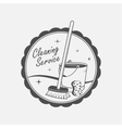 cleaning service logo vector image
