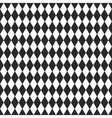 background with black and white rhombus vector image
