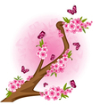 Tree branch vector image