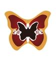 butterfly framed vector image