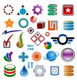 logo designer vector image