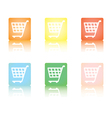 shopping cart5 vector image vector image