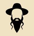 rabbi vector image