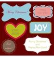Set of christmas ng new year banners vector image vector image