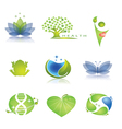 Health care icons set vector image