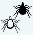 Mite bug vector image vector image