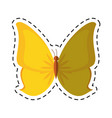 cartoon butterfly animal insect fly vector image
