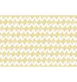 golden hand drawn pattern vector image