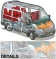 mini bus vector image vector image