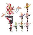 Funny Joker vector image