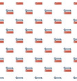 ski and sticks pattern seamless vector image
