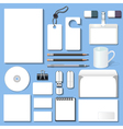 set of design templates vector image vector image