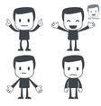 emotions icon man vector image vector image