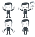 emotions icon man vector image