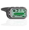 remote car alarm 02 vector image