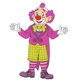 Funny Circus Clown vector image
