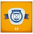 Design school emblem vector image