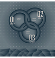 Circle style options banner vector image