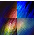 Northern lights light vector image
