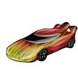 racecar vector image