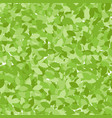 folliage summer seamless pattern endless leaves vector image