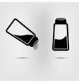 salt icon flat vector image