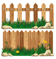 Fence vector image