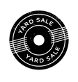 Yard Sale rubber stamp vector image