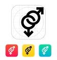 Gay icon vector image