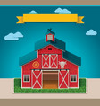 barn xxl icon vector image