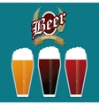 Beer icon design vector image