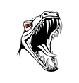 Tyrannosaurus head vector image vector image