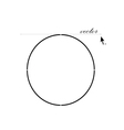 circle icon vector image