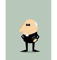 Cartoon priest vector image