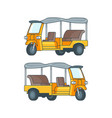 taxi in thailand concept vector image