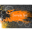 Colorful abstract grunge vector image