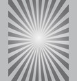 black sunburst background vector image