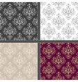 Seamless ethnic damask pattern vector image