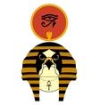 The ancient egyptian god Ra vector image