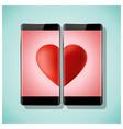 online dating concept love has no boundaries vector image