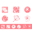 Cherry Blossom Logo vector image